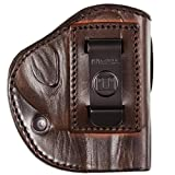 Tagua TX-IPH4-022 4 Victory Holster S&W J Frame/Ruger LCR/Bodyguard 38, Right Hand, Brown