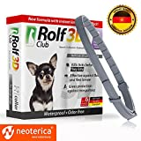Dog Flea Treatment Collar - Rolf Club 3D FLEA Collar for Dogs – Flea and Tick Prevention for Dogs – Dog Flea and Tick Control for 6 Months – SAFE Tick Repellent – WATERPROOF Tick Treatment