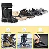 Sportneer Crampons Traction Ice Cleats, 19 Spikes