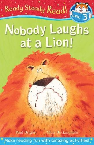 Download Nobody Laughs at a Lion! (Ready Steady Read) pdf epub