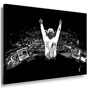 Dj Armin Van Buuren 2001. Size 100x70x2cm(l/h/w). Canvas On Wooden Frame. Made In Germany.