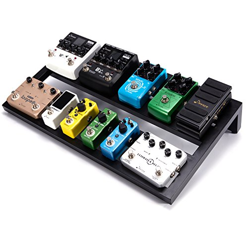 Donner Guitar Pedal Board Case DB-3 Aluminium Pedalboard 20'' x 11.4'' x 4'' with Bag by Donner (Image #6)