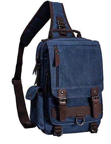 Mygreen Sling Backpack Single Strap School Travel Sports Shoulder Bags - Over Case Laptop Flap