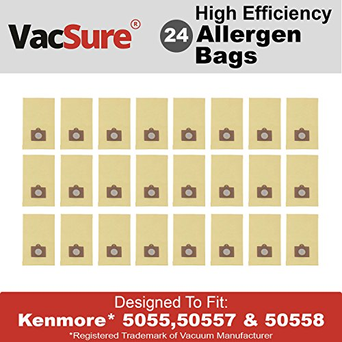 VacSure Vacuum Bags To Fit Kenmore Canister Type C 5055,