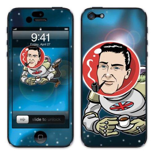 Diabloskinz B0081-0046-0042 Vinyl Skin für Apple iPhone 5/5S Piper in space