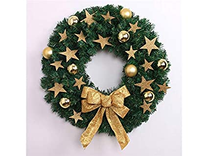 Amazon Com Wetietir Special Pentagram Christmas Garland Door
