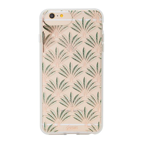 iPhone 8 PLUS / 7 PLUS / 6 PLUS, Sonix PALM DECO Clear Coat Cell Phone Case - Drop Test Certified - Retail Packaging - Sonix Clear Case Series for - Marajuna Leaf