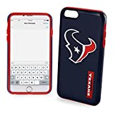 Forever Collectibles Licensed NFL Cell Phone Case for Apple iPhone 6/6s - Retail Packaging - Houston Texans