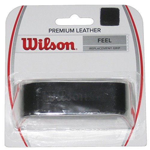 Wilson Black Premium Leather Tennis Replacement Grip