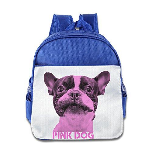 JXMD Custom Cute Pink Dog Children School Bag Backpack For 1-6 Years Old (Ugg Dog Bag)