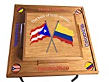 Puerto Rico & Colombia Domino Table