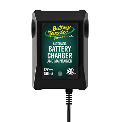 Battery Tender Junior Charger and Maintainer: Automatic 12V Powersports Battery Charger and Maintainer