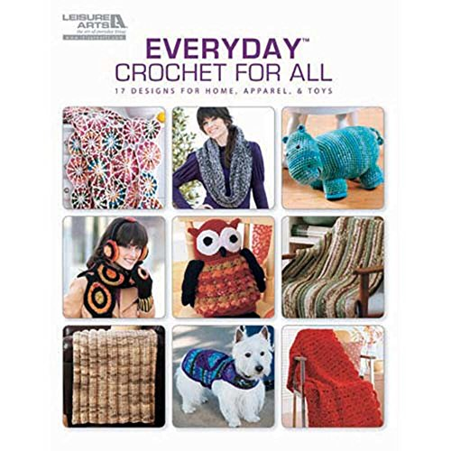 Herrschners® Everyday Crochet for All Crochet Book