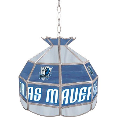 NBA Dallas Mavericks Tiffany Gameroom Lamp, 16'' by Trademark Gameroom