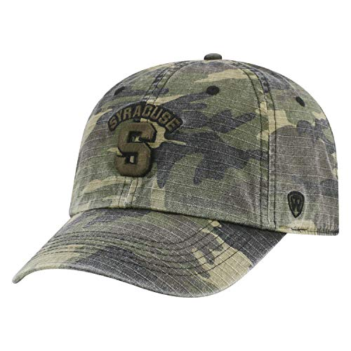 Syracuse Orange Camouflage Caps. Top of the World Syracuse Orangemen  Official NCAA ... afc34d10d651