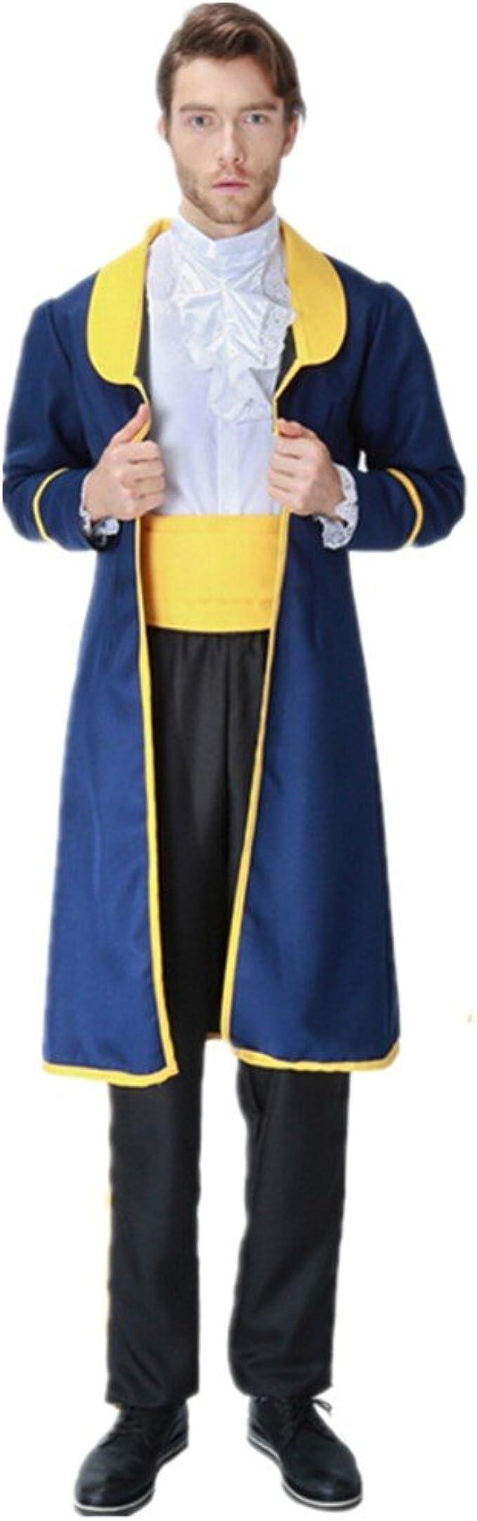 xiemushop Disfraz de Principe para Adulto Cosplay Principe Bestia ...