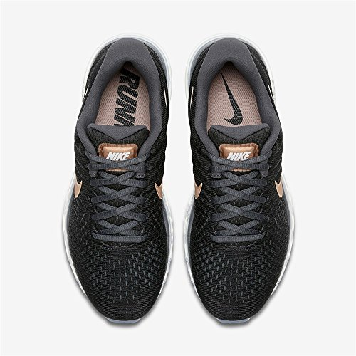 Nike 008 Nero Donna Metallizzato Scarpe da Bronzo Rosso Fitness 849560 002 rwWYvqFnrA