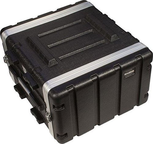 Ultimate Support DURACASE UR-6L DuraCase Audio Rack Series ABS Portable Rackmount Case - 6-Space Rack Case