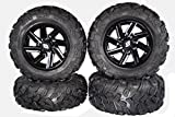 MASSFX SL 26'' Tall Wheel and Tire Kit for Polaris Sportsman W/ Sedona Chopper Rim