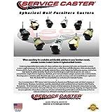 Service Caster Windsor Antique Brass Hooded 2