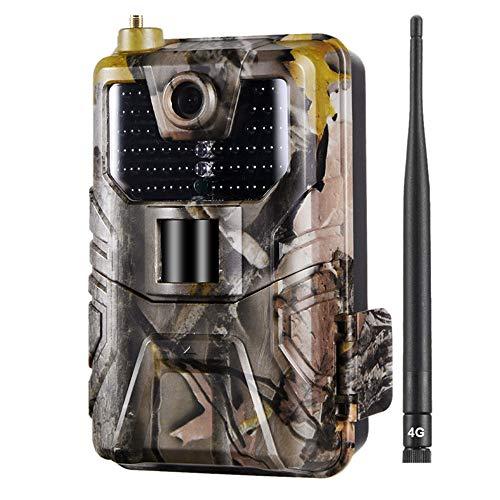 - SODIAL Hc-900Lte 4G Hunting Camera 16Mp 940nm Trail Camera MMS/SMS/Smtp/FTP Ip65 Wild Camera 44 Led(Us 4G)