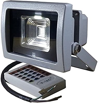 FIT ENERGY-PROYECTOR LED RGB 10W: Amazon.es: Iluminación