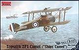 Roden Sopwith 2F1 Camel British Ship-Borne Biplane Fighter Airplane Model Kit