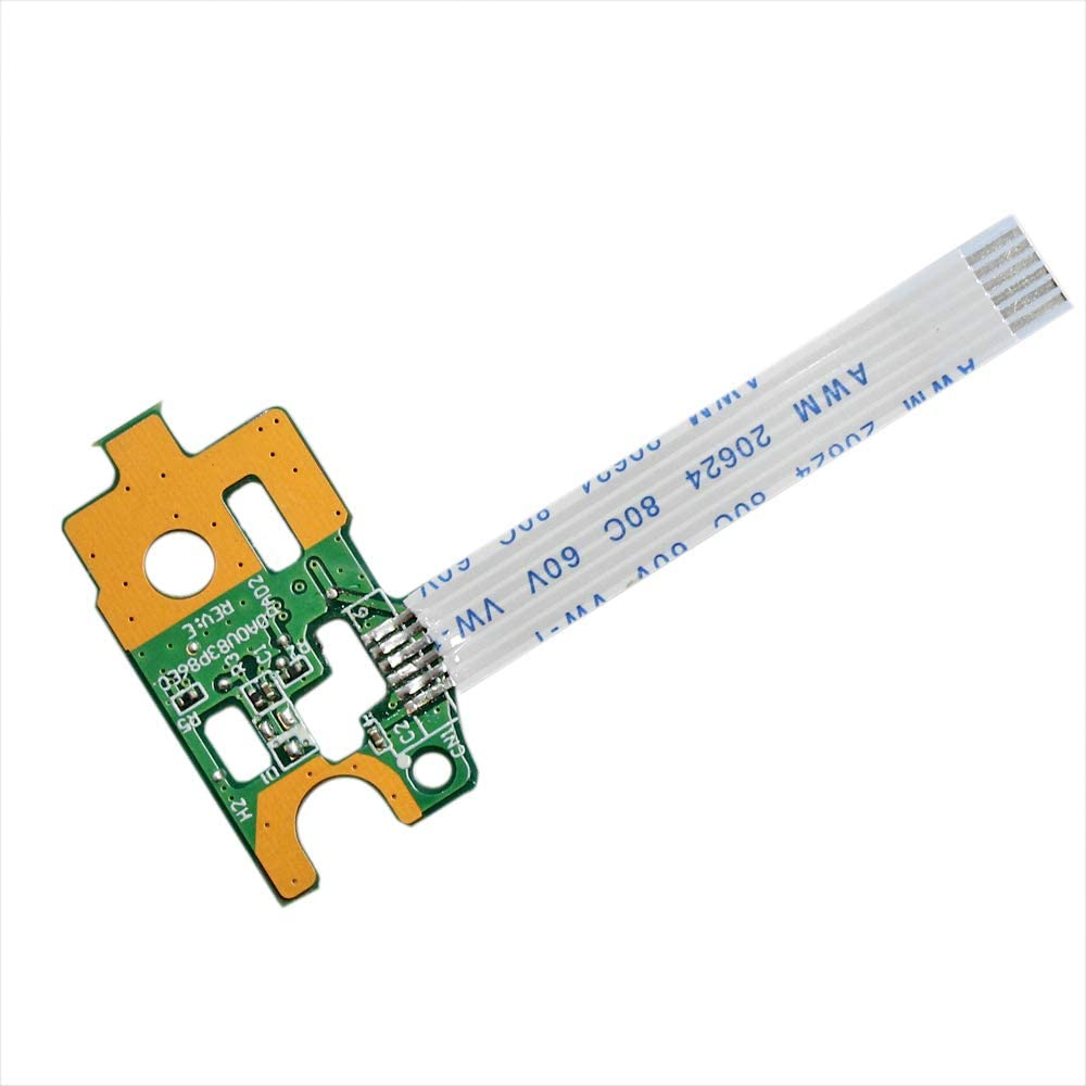 Power Button Board w// Cable For HP Pavilion 15-f271wm 15-f272wm 15-f278nr