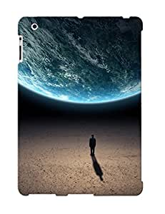 [2e474904256] - New Outer Space Planets Earth Men Fantasy Art Artwork Protective Ipad 2/3/4 Classic Hardshell Case