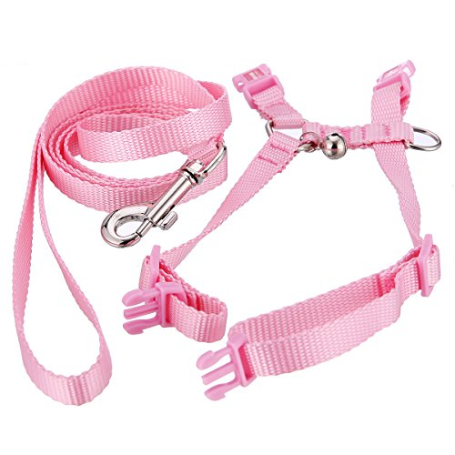 Used, Polkar Adjustable Pet Rabbit Walking Harness Leash for sale  Delivered anywhere in USA