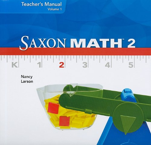 Saxon Math 2, Volume 1