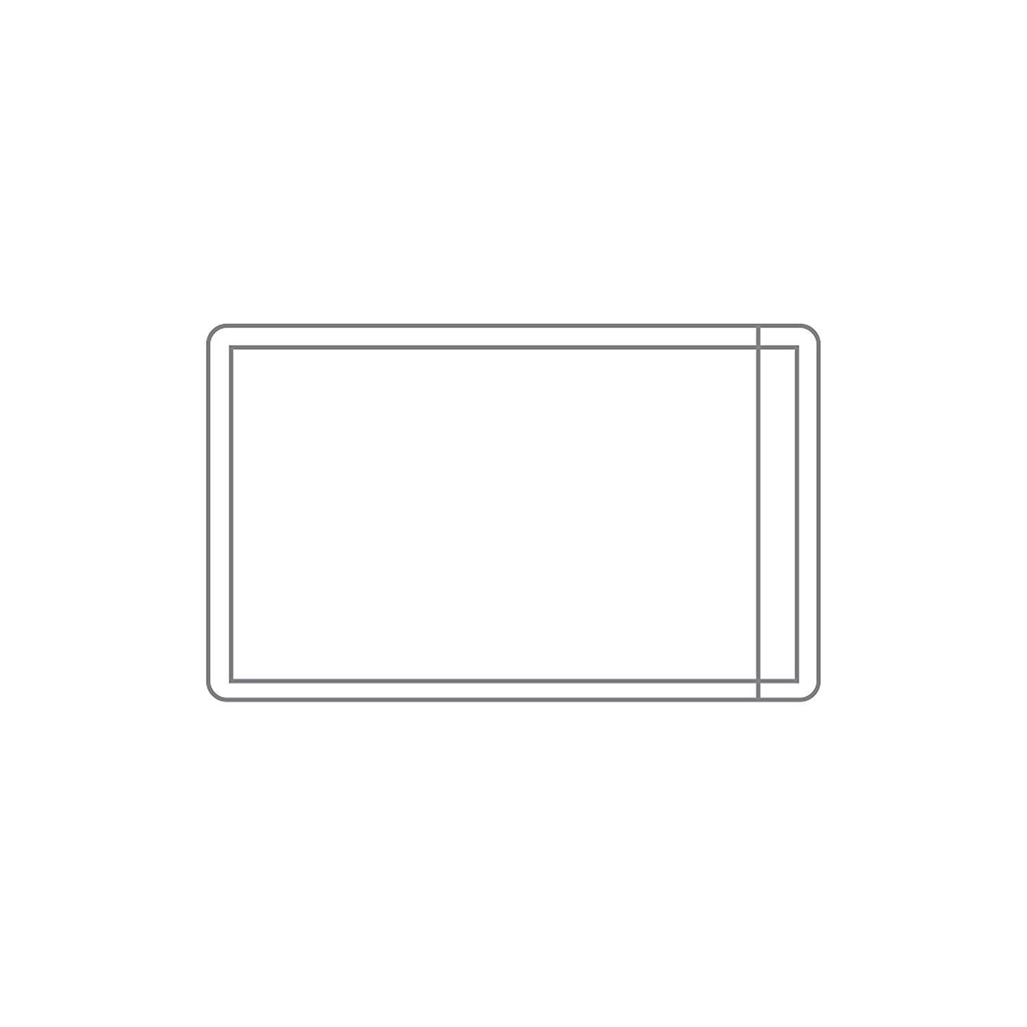 PackZen Clear Self-Adhesive Business Card Holder/Pocket (open on the short side) - Pack of 100 - Made in the USA