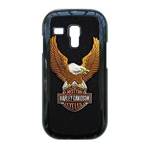 I8190 caso de Harley D V1R74V9AX funda Samsung Galaxy S3 Mini funda 3BD62I negro