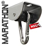 (US) High End MARATHON Swing Hanger of stainless steel AISI 304 - Heavy duty hanger with Ball Bearing Technology up to 60 min continuous moving, New model 2016 with improved runnability by die-schaukel de