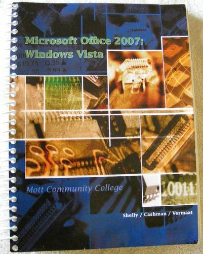 Download Microsoft Office 2007 Windows Vista Mott Community College pdf epub