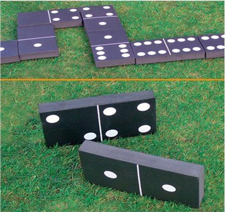 Giant Dominoes Garden Patio Outdoor Game For Kids Children Adults Summer  Fun By Unknown