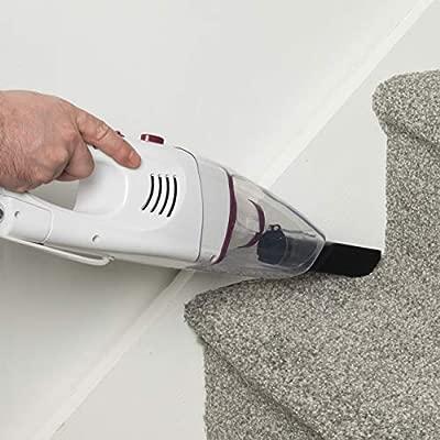 Plum Crevice Tool and Brush Tool Included Kleeneze/® KL0770PLUM 2 in 1 Versatile Stick Vacuum Cleaner  1 L Dust Container 600 W