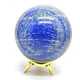 ''Attractive'' Lapis Lazuli Gemstone Metaphysical Aura Sphere Crystal Polished Beautiful Ball (Lapis Lazuli 60-75mm)