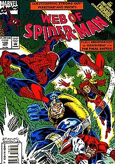 Web of Spider-Man #106 : Judgment Day (Infinity Crusade - Marvel Comics) -