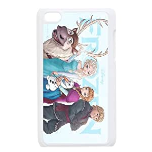 frozen,anna and elsa,snowman frozen forever series protective cover FOR IPod Touch 4 SB4553444