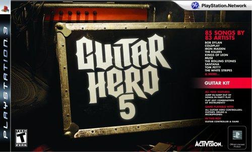 Guitar Hero Van - PS3 Guitar Hero 5 Guitar Bundle