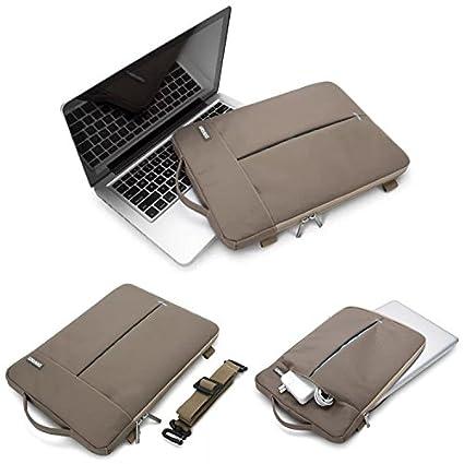 Original POFOKO alta calidad Ordenador Portatil Desktop antigolpes resistente al agua nylon bolsillos bolso de hombro ...