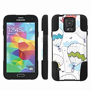 [ArmorXtreme] Hybrid Armor View-Stand Design Image Protect Case (Air balloon) for Samsung Galaxy S5