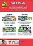 School Zone - Cut & Paste Skills Workbook - Ages 3