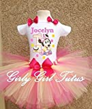 Minnie Mouse 1st Birthday Outfit Dress Set