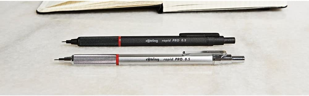 mit Einzug, 0,5/mm schwarz Rotring 1904258 Rapid PRO Druckbleistift