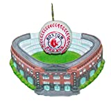 Kurt Adler 3-3/4-Inch Boston Red Sox Fenway Park with Baseball Ornament