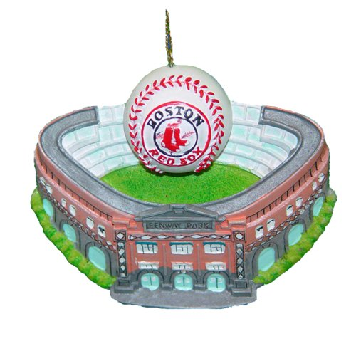 Boston Red Sox Kurt Adler 3-3/4-Inch Fenway Park with Baseball Ornament
