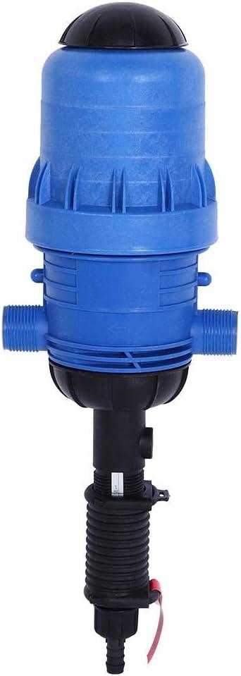 TOPINCN Dispensador de inyector de fertilizante para riego con gota de gota agua alimentada por riego herramienta de dosificaci/ón autom/ática del ganado abono G3 // 4in