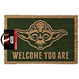 Star Wars Yoda Doormat, Multi-colour, 40 x 60cm